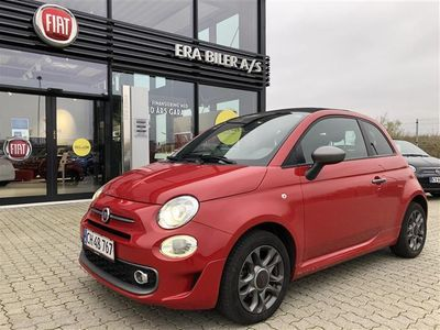 brugt Fiat 500C 0,9 TwinAir Sportiva Start & Stop 85HK Cabr.