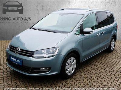 usata VW Sharan 2,0 BlueMotion TDI DPF Comfortline DSG 140HK 6g Aut. - Personbil - gråmetal - 7 pers.