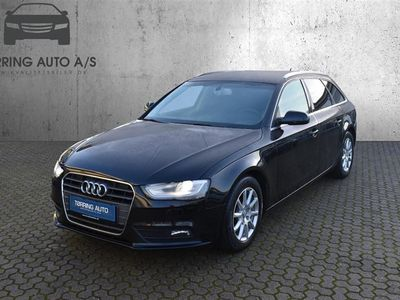 brugt Audi A4 Avant 2,0 TDI 136HK Stc 6g - Personbil - Sort