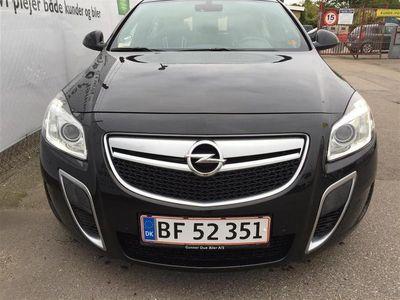 brugt Opel Insignia OPC 2,8 Turbo 4x4 325HK 5d 6g