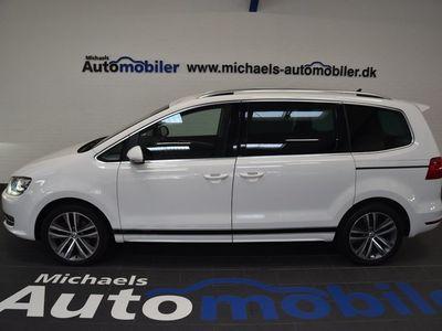 brugt VW Sharan 2,0 TDi 140 Highline DSG BMT