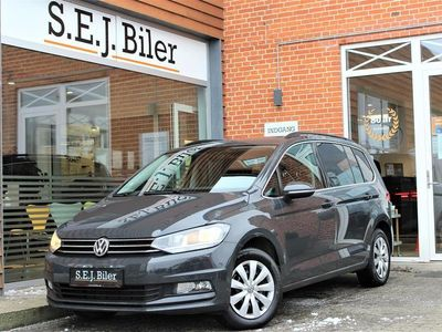 brugt VW Touran 1,6 TDI BMT SCR Comfortline DSG 115HK 7g Aut. A+