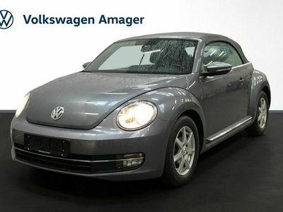 brugt VW Beetle The1,2 TSi 105 Design Cabriolet BMT