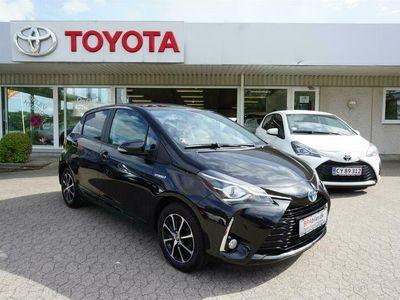 brugt Toyota Yaris 1,5 Hybrid H3 E-CVT 100HK 5d Trinl. Gear A+++