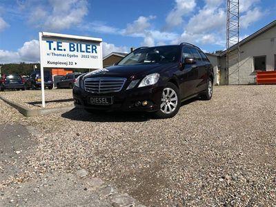 brugt Mercedes E250 2,2 CDI BlueEfficiency 204HK Stc Aut.