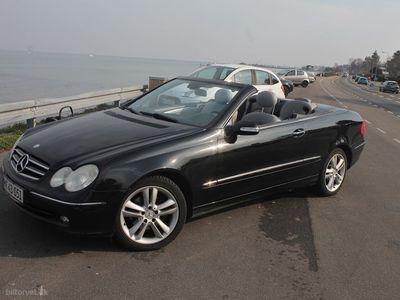 käytetty Mercedes CLK320 aut. 218HK Cabr.