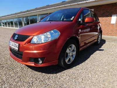 used Suzuki SX4 1,6 16V Exclusive 120HK 5d