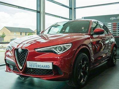 gebraucht Alfa Romeo Stelvio 2,9 Bi-Turbo V6 Quadrifoglio 510HK 5d 8g Aut.