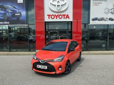 brugt Toyota Yaris 1,3 VVT-I Orange Edition 100HK 5d 6g A