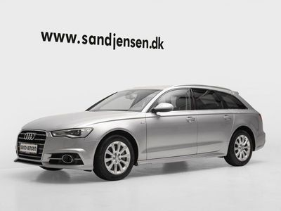 brugt Audi A6 3,0 TDi 218 Avant S-tr. Van