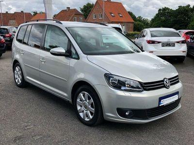 brugt VW Touran 2,0 TDi 140 Comfortline DSG 7prs