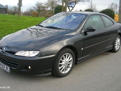 brugt Peugeot 406 Coupe 2,2 160HK 2d