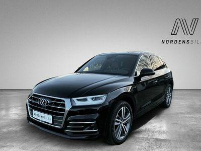 brugt Audi Q5 2,0 TDi 190 Sport S-line quat S-tr