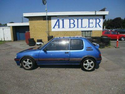 brugt Peugeot 205 1,9 GTi