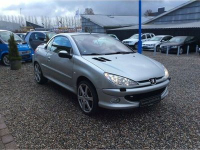 used Peugeot 206 CC 1,6 Griffe