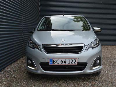 brugt Peugeot 108 1,0 e-Vti Desire TOP! 69HK 5d
