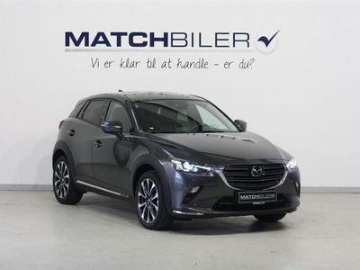 brugt Mazda CX-3 2,0 Skyactiv-G Optimum 121HK 5d 6g