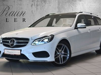 brugt Mercedes E300 204 hk BlueTEC HYBRID G-TRONIC AMG-Line