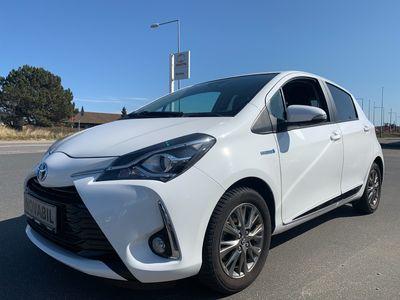 brugt Toyota Yaris Hybrid 1,5 Hybrid Exclusive E-CVT 100HK 5d Trinl. Gear A+++