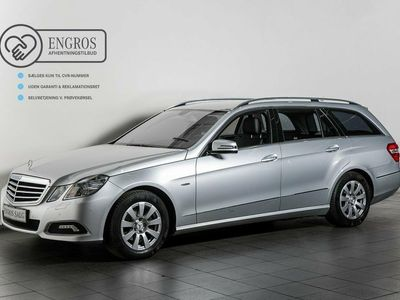 brugt Mercedes E200 8 CGi Avantgarde stc. aut. BE