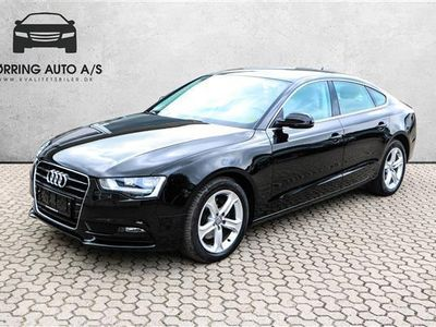 gebraucht Audi A5 Sportback 1,8 TFSI Multitr. 177HK 5d 8g Trinl. Gear - Personbil