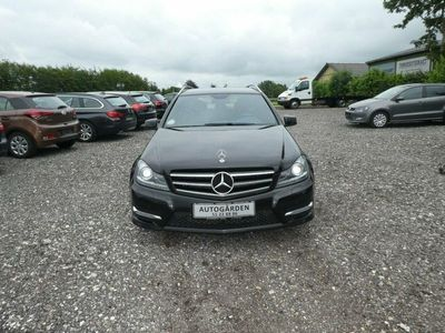 used Mercedes C200 2,2 CDi Avantgarde stc. aut. BE