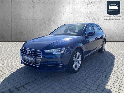 brugt Audi A4 Avant 2,0 TFSI Sport Edition Plus S Tronic 190HK Stc 7g Aut. - Personbil - Mørkblåmetal
