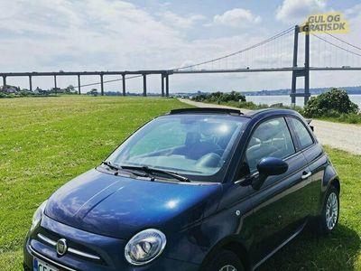 brugt Fiat 500C - lækker sommerbil