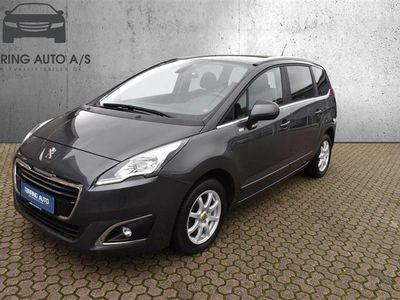 brugt Peugeot 5008 1,6 BlueHDi Allure 120HK 6g - Personbil - Gråmetal