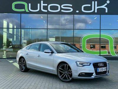 brugt Audi A5 Sportback 2,0 TDi 177 Multitr.