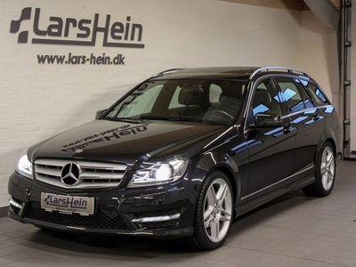 brugt Mercedes C220 2,2 CDi Avantgarde AMG st.car aut.