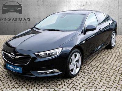 brugt Opel Insignia Grand Sport 1,5 Turbo Dynamic Start/Stop 165HK 5d 6g Aut. - Personbil - mørkblåmetal