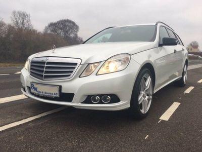 gebraucht Mercedes E200 2 CDi stc. aut. BE