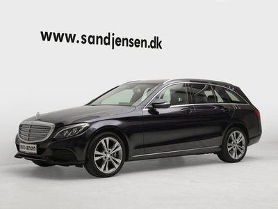 brugt Mercedes C250 2,2 BlueTEC Exclusive stc. 4-M