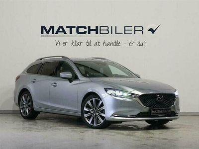 brugt Mazda 6 2,2 Skyactiv-D Optimum m. Luxury Pack 184HK Stc 6g Aut.