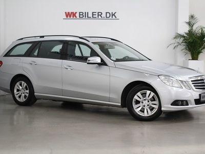 brugt Mercedes E220 2 CDi stc. aut. BE
