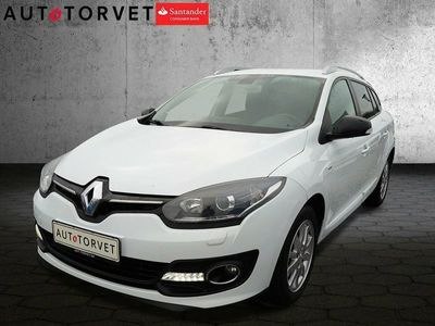 brugt Renault Mégane III 1,5 dCi 110 Limited Edition ST ESM