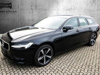 brugt Volvo V90 2,0 D4 Momentum 190HK Stc 8g Aut. - Personbil - Sort