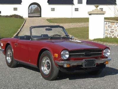 brugt Triumph TR6 2,5 104HK Cabr.