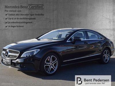 brugt Mercedes CLS220 2,1 Bluetec 9G-Tronic 170HK 4d 9g Aut.