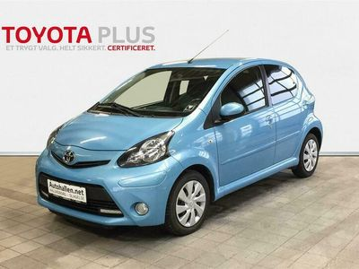 brugt Toyota Aygo 1,0 VVT-I Cool&Blue 68HK 5d