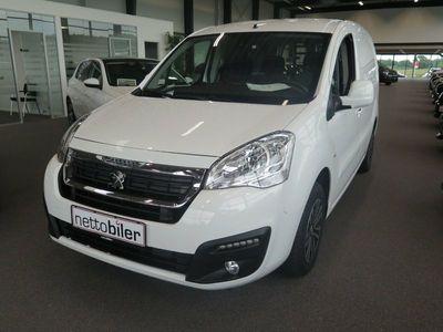 brugt Peugeot Partner 1,6 BlueHDi 100 L1 Premium ESG Van