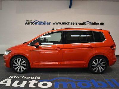 brugt VW Touran 2,0 TDi 190 Highline DSG 7prs