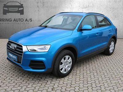brugt Audi Q3 1,4 TFSI 150HK 5d 6g - Personbil - blåmetal