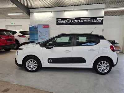 brugt Citroën C3 1,6 Blue HDi Iconic+ start/stop 75HK 5d