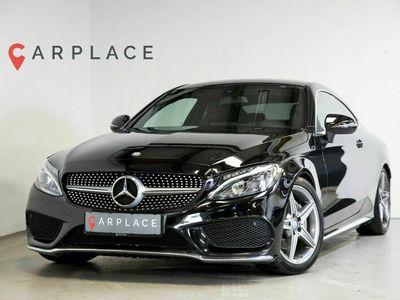 brugt Mercedes C200 2,0 AMG Line Coupé aut.