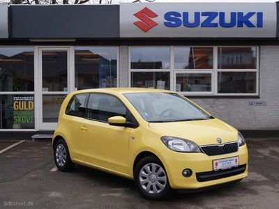 käytetty Skoda Citigo 1,0 Ambition Greentec 60HK 3d
