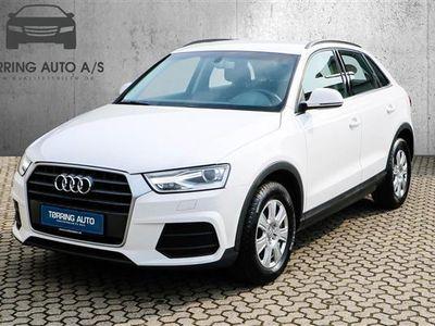 brugt Audi Q3 2,0 TDI 150HK 5d 6g - Personbil - hvid