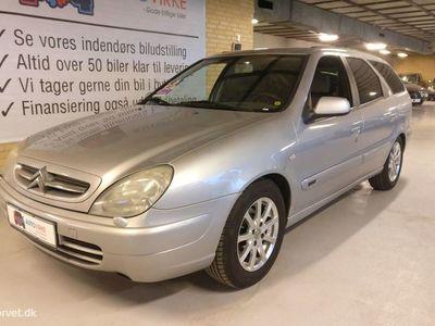 brugt Citroën Xsara Weekend 2,0 HDI Family 90HK Stc