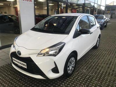brugt Toyota Yaris 1,0 VVT-I T1 69HK 5d